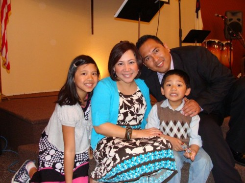 Pastor Sente and His Family
